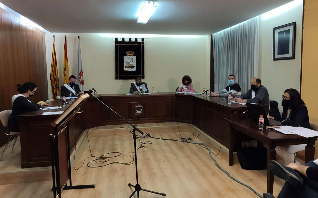Pleno municipal en Andorra. / Ayto. Andorra