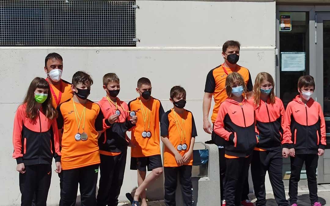 Los componentes del equipo infantil de salvamento y socorrismo de Andorra. Foto: S.A.