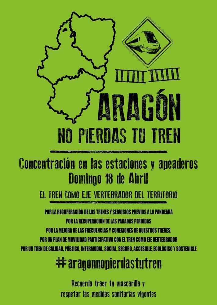 Concentración #aragonnopierdastutren
