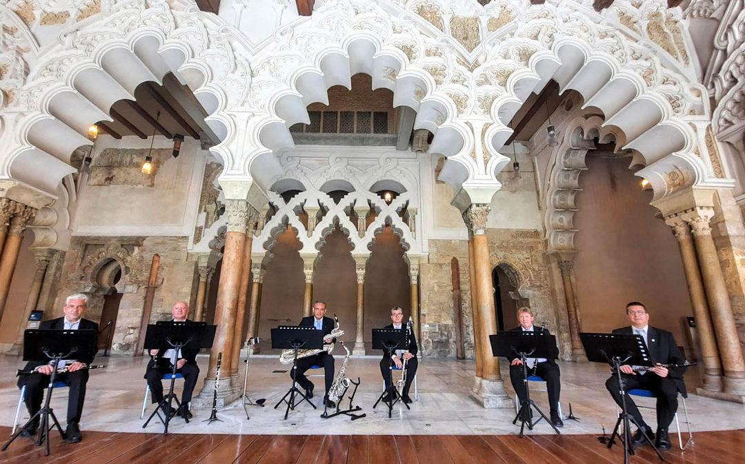 El grupo instrumental de la Diputación de Zaragoza ofrece un concierto virtual con motivo del Día de Aragón