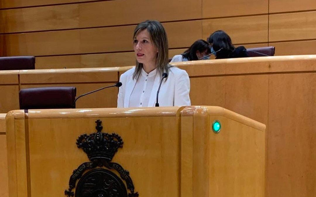 Beatriz Martín, senadora de Teruel Existe./Teruel Existe