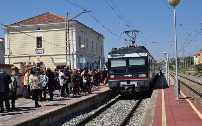 DGA presiona al Gobierno Central y confía en «mantener» el tren