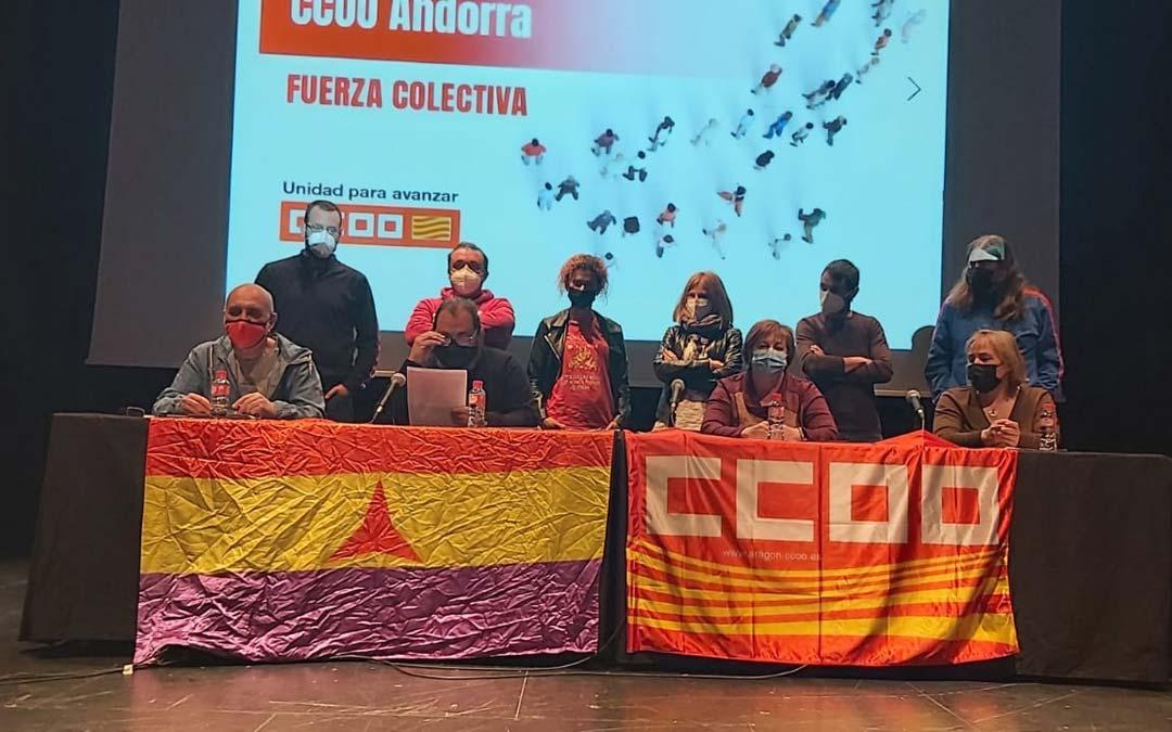 Celebración del congreso este sábado./CCOO