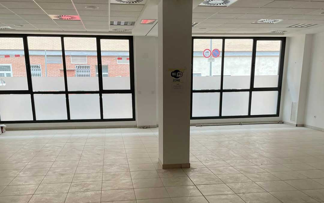 El centro contará con 454 metros cuadrados en los bajos del edificio de viviendas para mayores / Aragonesa de Obras Civiles