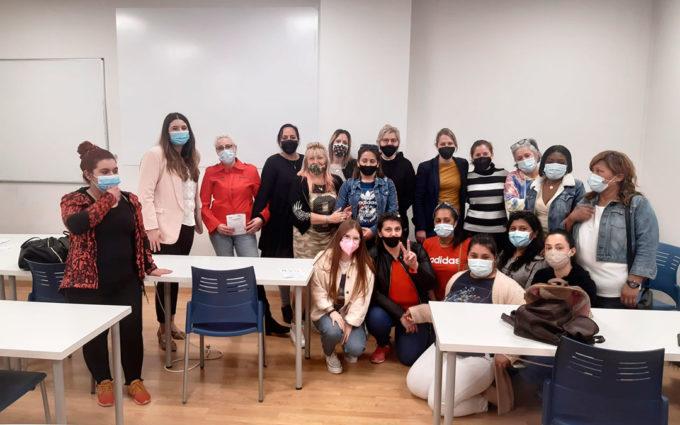50 mujeres participan en el programa SARA de Cruz Roja de Caspe