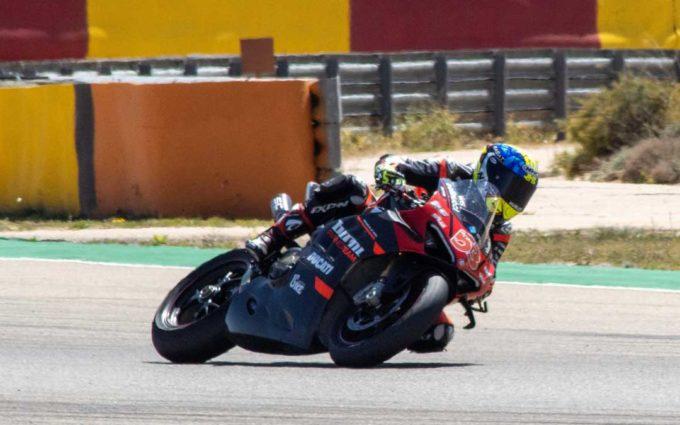 Motorland Aragón ha acogido dos días de pruebas para competidores de WorldSSP y WorldSSP300 del Mundial de SBK