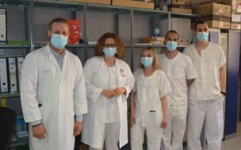Medicina Preventiva administra más de 400 vacunas a personas de alto riesgo del sector sanitario de Alcañiz