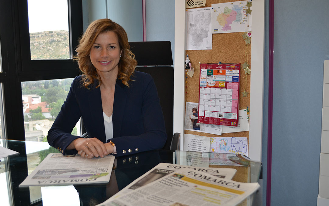 Eva Defior, directora del Grupo de Comunicación La COMARCA./ H.I.