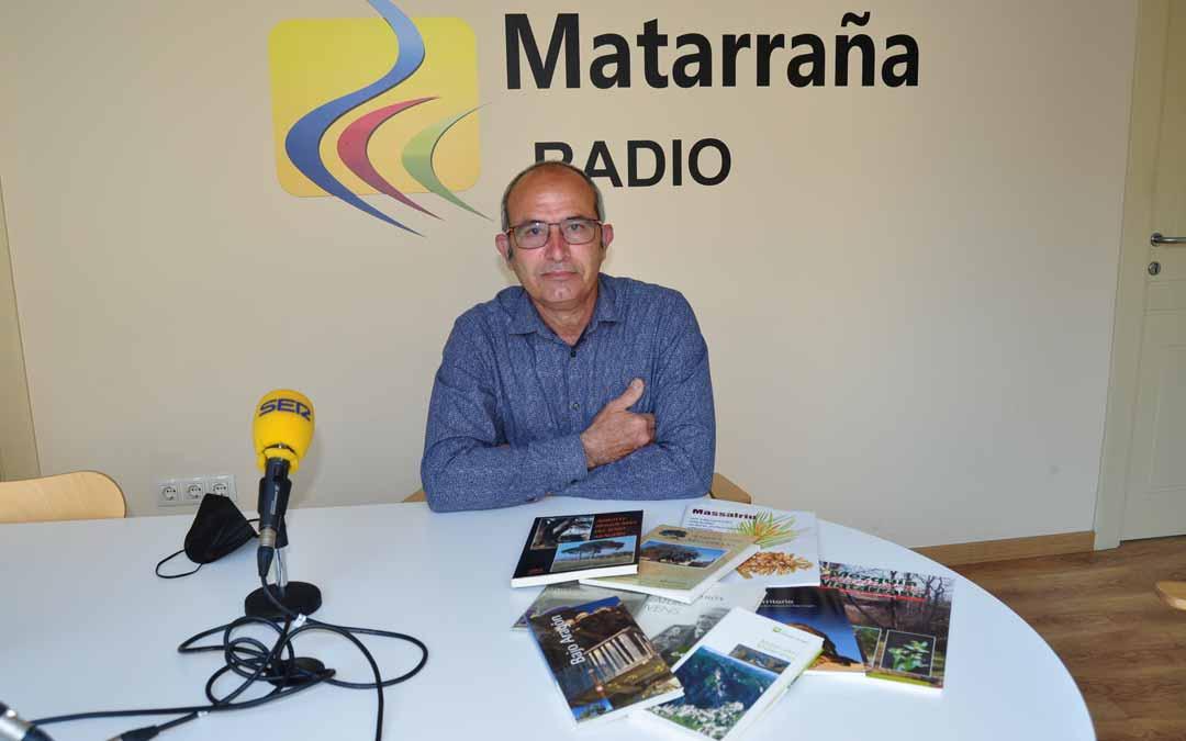 Fernando Zorrilla es divulgador medioambiental y ha publicado varios libros. J.L.