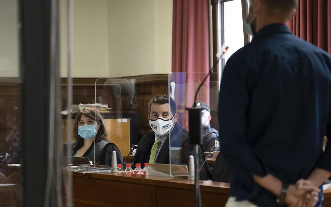 Todos los abogados han alabado el trabajo de la fiscal Carmen Continente / Antonio García-Pool EFE