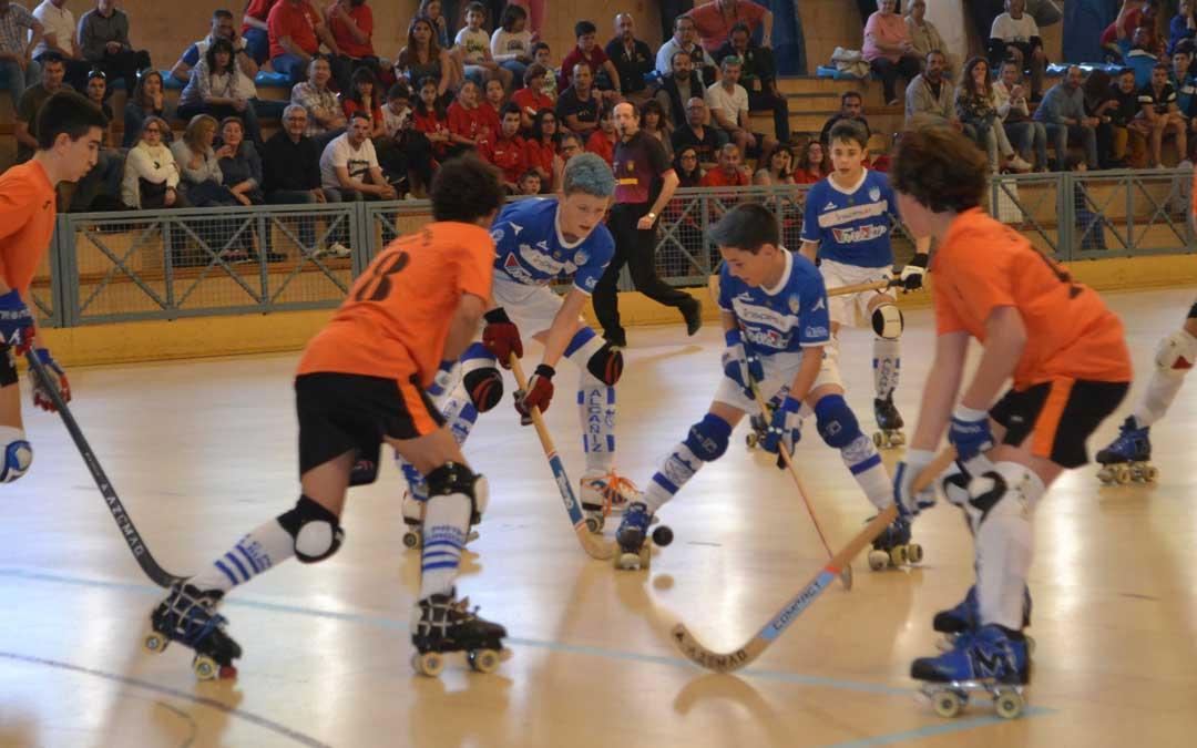 El pabellón alcañizano volverá a ser escenario de un campeonato de España de hockey sobre patines. Foto: L.C.