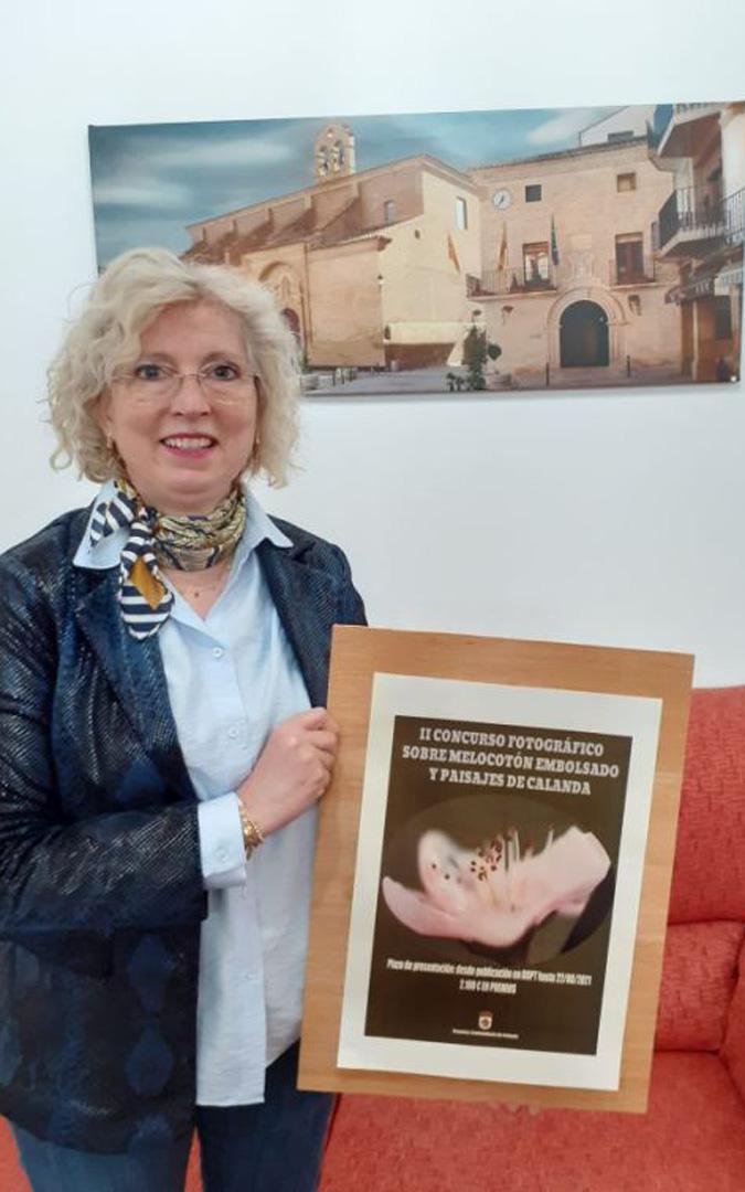 La concejala de Cultura y Turismo de Calanda, Isabel Zabal. / Ayto. Calanda