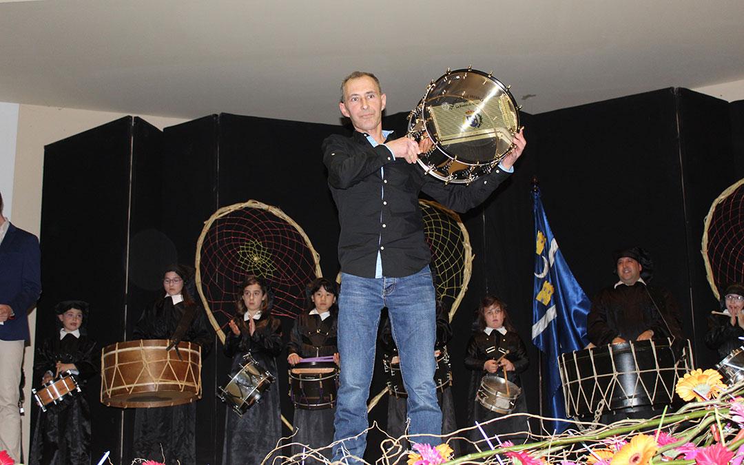 José Manuel Sierra Clavería, Tambor de Honor 2019 de La Puebla de Híjar. / B. Severino