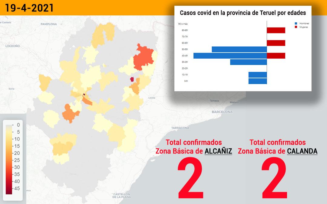 Tanto la zona básica de Alcañiz como la de Calanda sumandos positivos cada una./ L.C.