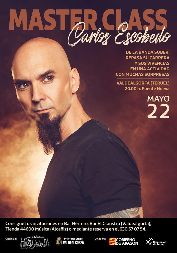 Master Class Carlos Escobedo