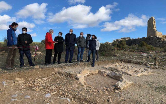 La Diputación de Teruel se compromete con la potenciación y el mantenimiento del patrimonio ibérico de la provincia