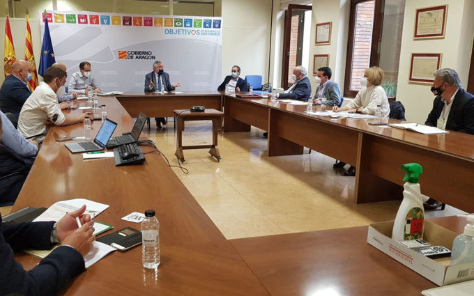 La Red Aragonesa de Desarrollo Rural mantiene su petición de que DGA asigne a Leader 16 millones de euros hasta 2023