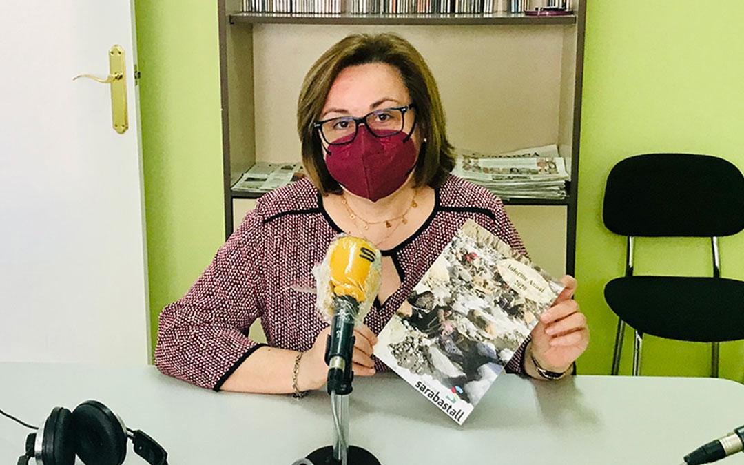 Pilar Lasheras es presidenta de Fundación Sarabastall.