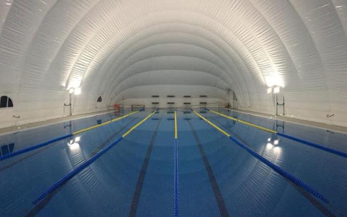 Alcañiz cerrará su piscina de verano con una cubierta presostática