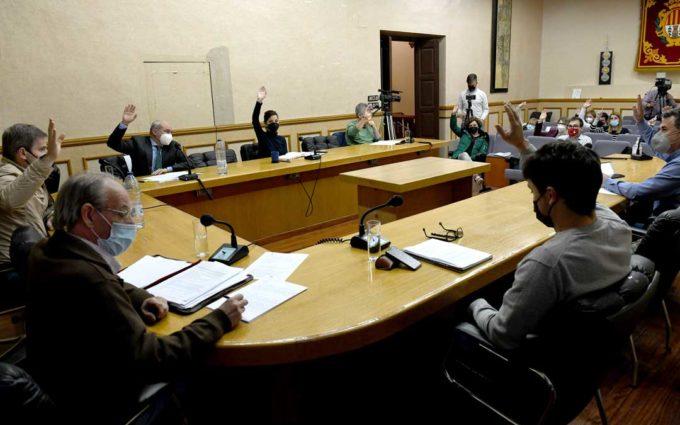 Los hosteleros de Alcañiz no pagarán la tasa de terrazas en todo 2021