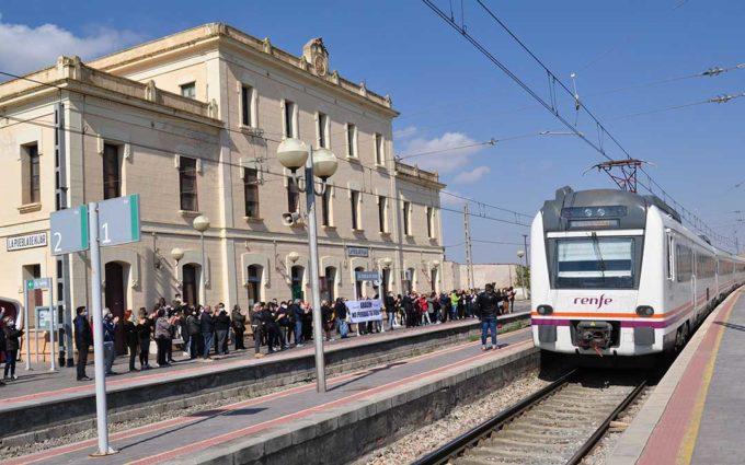 Soro se compromete a pagar la línea Caspe-Fayón si Madrid financia el resto