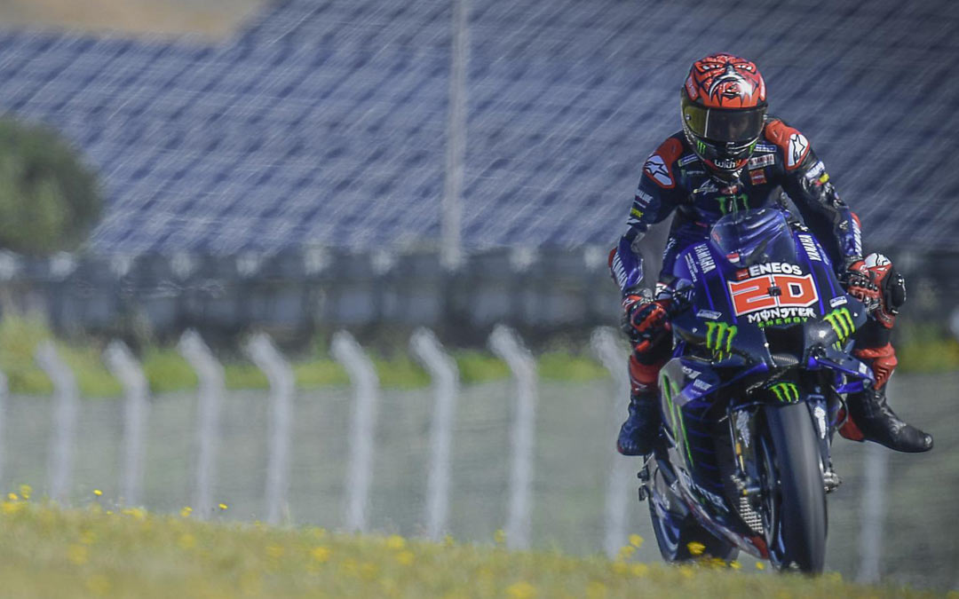 Fabio Quartararo, Gran Premio de Portugal./MotoGP