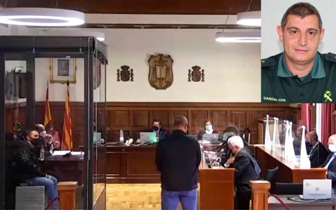 El excapitán de Alcañiz elude responsabilidades y protagoniza una declaración llena de contradicciones