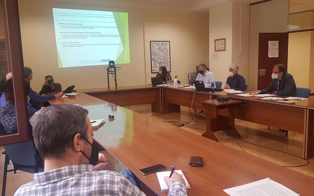 Reunión del Comité de Seguimiento del PDR./ Aragón Hoy