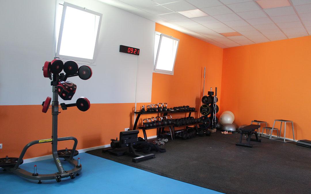 Una de las zonas del gimnasio de Samper. / B. Severino