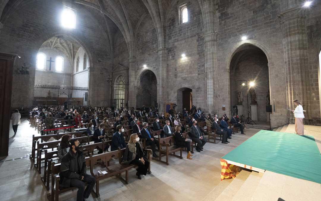 El acto ha tenido lugar en la excolegiata de Santa María de Mora de Rubielos / DPT