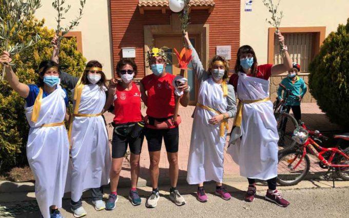 Santi Marzo: «Hice un maratón diario durante nueve días y tuve el apoyo de 70 vecinos que estuvieron corriendo junto a mí»