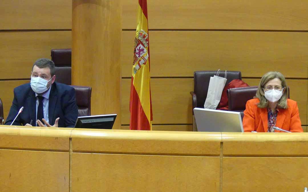 El mapa fue presentado por los geógrafos José Antonio Guillén, técnico de la Red SSPA y María Zúñiga, profesora de la Universidad de Zaragoza. SSPA