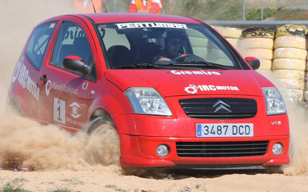 El campeonato de Aragón de slalom comienza con la cita de Motorland Aragón. Foto: FADA