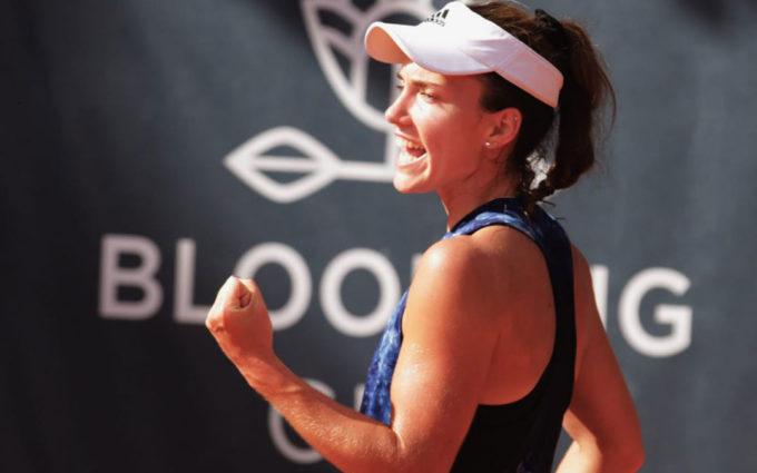 La tenista caspolina Irene Burillo alcanza el número 259 del ránking de la WTA