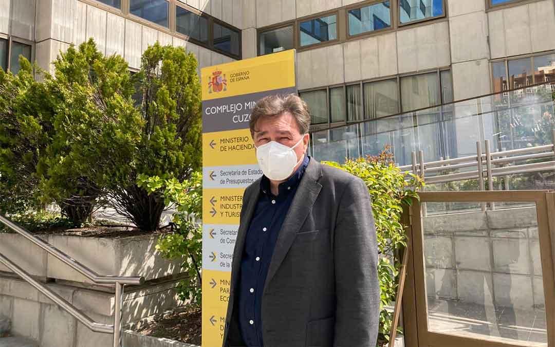El diputado de Teruel Existe, Tomás Guitarte./ T.E.