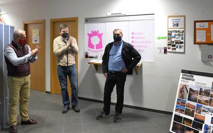 José Antonio Vivancos expone sus 'Visiones alcañizanas' en el Centro de Adultos