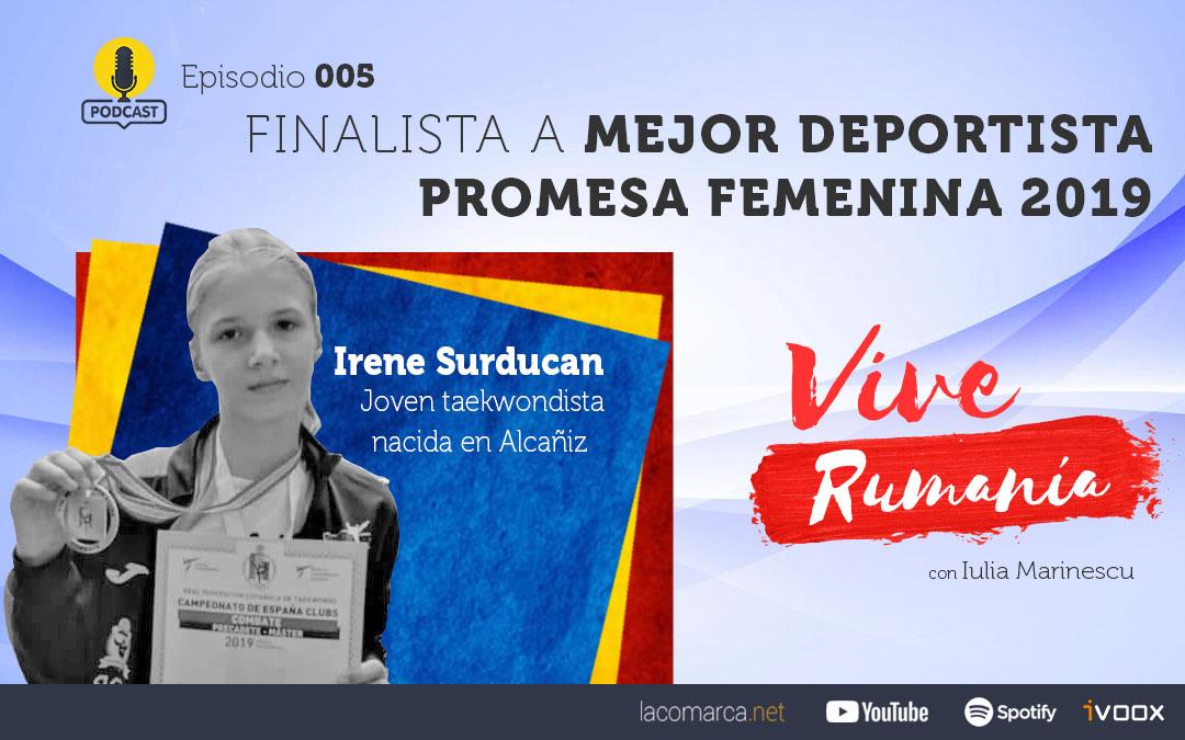 Vive Rumanía: Finalista a Mejor Deportista Promesa Femenina 2019. Episodio 5