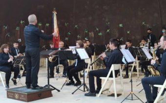 La Lira Alcañizana ofrece el primer concierto del año en la Glorieta Telmo Lacasa con presencia de público