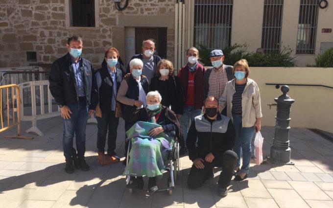 Albalate celebra los 110 años de Rosa Marcuello Sancho