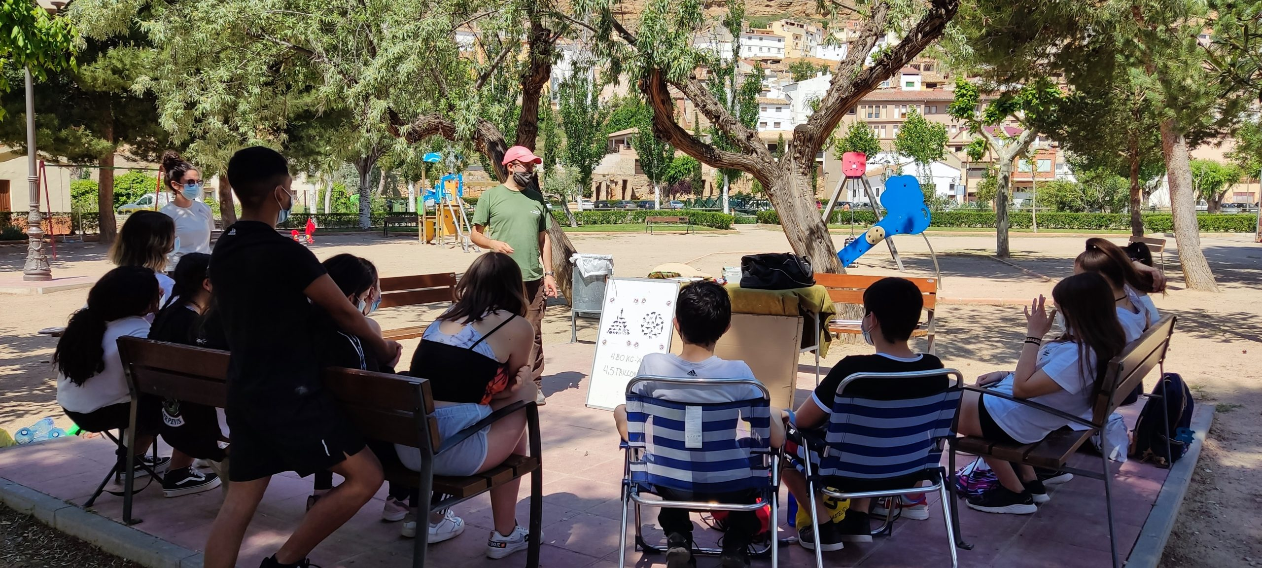 Mesa redonda con Ricardo Rodríguez. / Juventud Bajo Martín