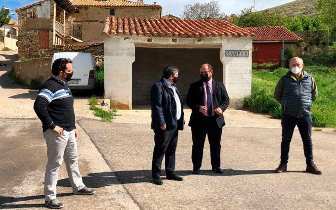 La DPT anuncia la mejora este año de las carreteras de Aliaga a Campos, a Miravete y a Pitarque