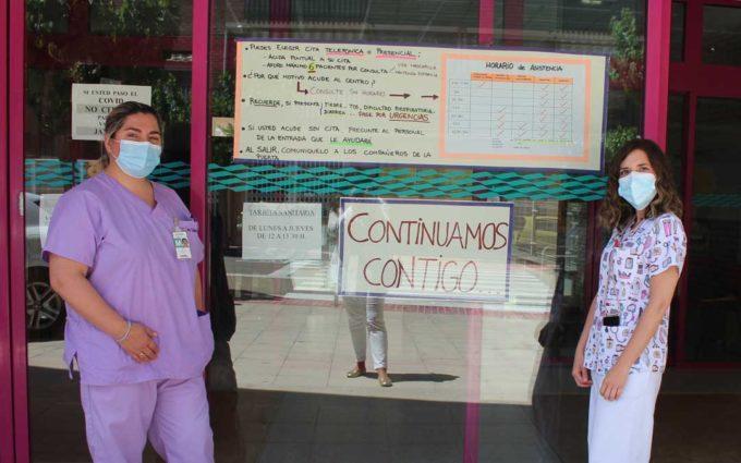 La atención Primaria de Alcañiz recupera la presencialidad