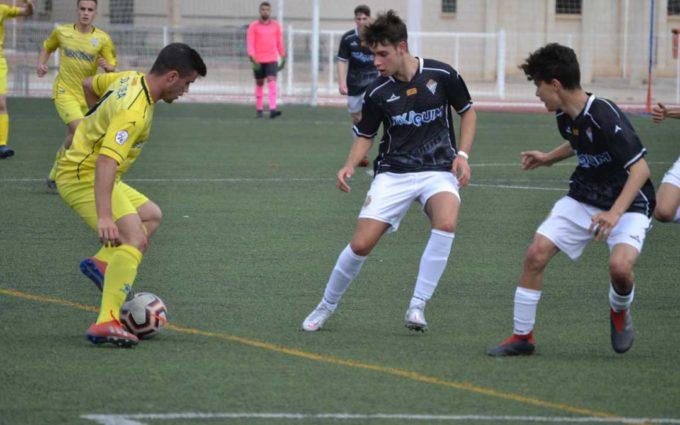 El Alcañiz de Liga Nacional Juvenil cierra la fase previa con una victoria in extremis ante el Ejea por 3 a 2