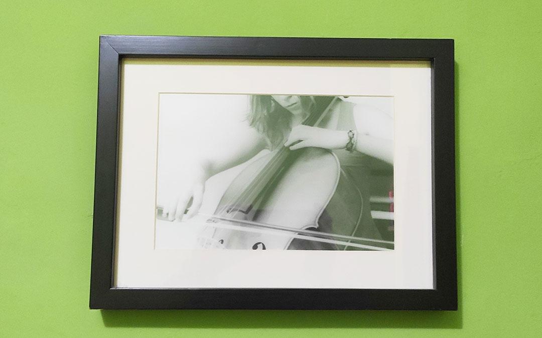 Una de sus fotografías analógicas. / Archivo personal