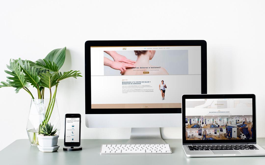 Diseño web y fotografía. / Archivo personal