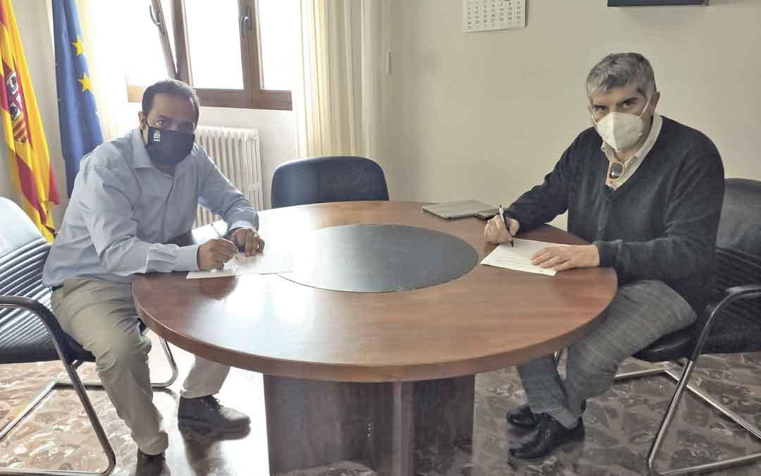 Firma del contrato con Atadi. / AYTO. ANDORRA