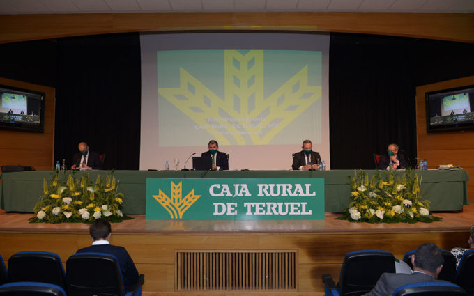 El beneficio antes de impuestos de Caja Rural de Teruel en 2020 crece un 55% y alcanza los 4,9 millones