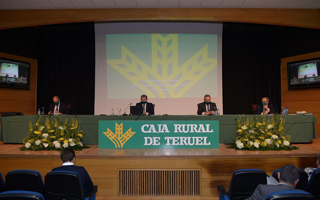 La Asamblea se ha celebrado en el Palacio de Congresos de Teruel. / Caja Rural