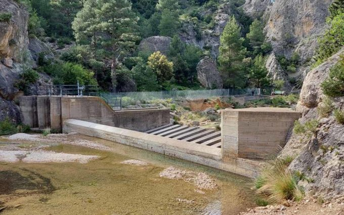 La Confederación Hidrográfica del Ebro inicia las obras de reparación del túnel de derivación Matarraña-Pena