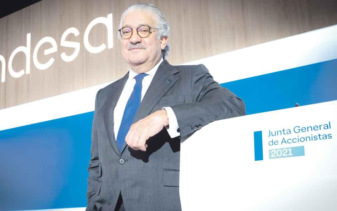 José Bogas, consejero delegado de Endesa. / L. C.
